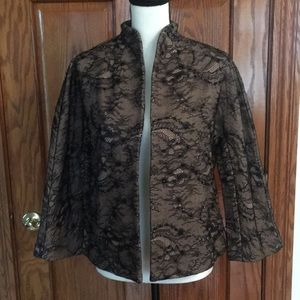 NWT Chico's Embellished Jacket in Size 1